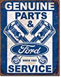 Ford Parts & Service Pistons Tin Sign