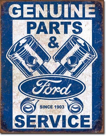 New Ford Genuine Parts and Service Pistons 16