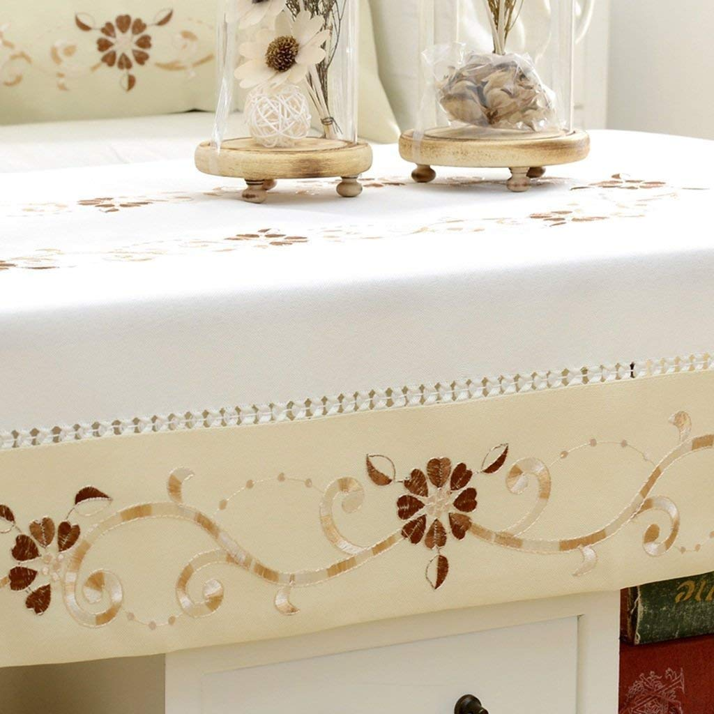 MEIDI Home Nappe Style Européen Nappe Table Basse Table Ronde Table ...