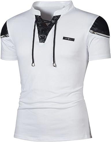 Fannyfuny camiseta Hombre Verano Camisas Casuales Camisetas Elástica de Fitness Tank Top Gym Fitness Muscle Mangas Cortas Culturismo de Secado Ajustado: Amazon.es: Ropa y accesorios