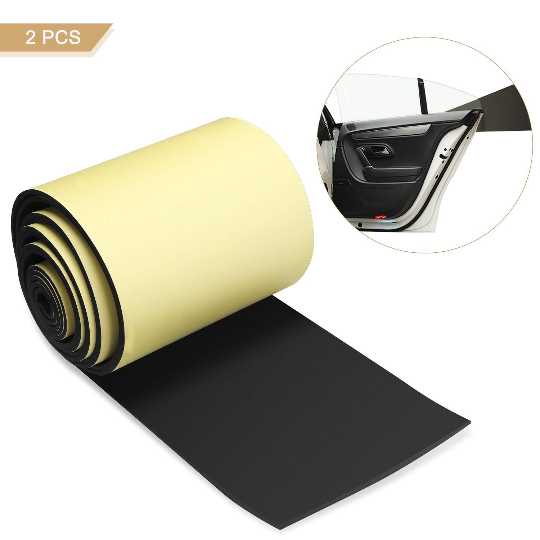 LOETAD 2Pcs Tiras de Espuma Protectoras Autoadhesivas para Proteger las Puertas del Coche de las Paredes del Garaje 5mm LOTEAD Direct EU PP-5MM