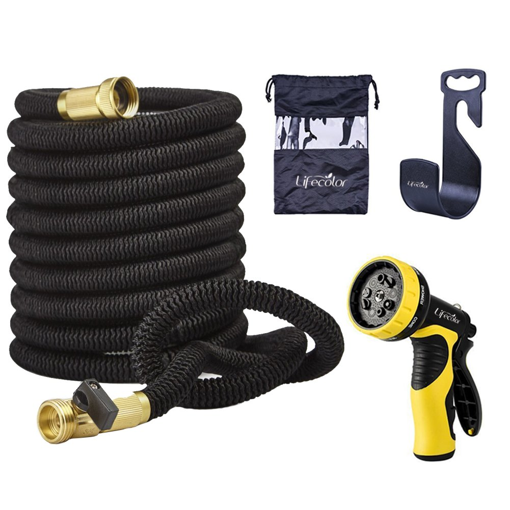 Lifecolor 50' Expanding Hose Stretch Hosepipe