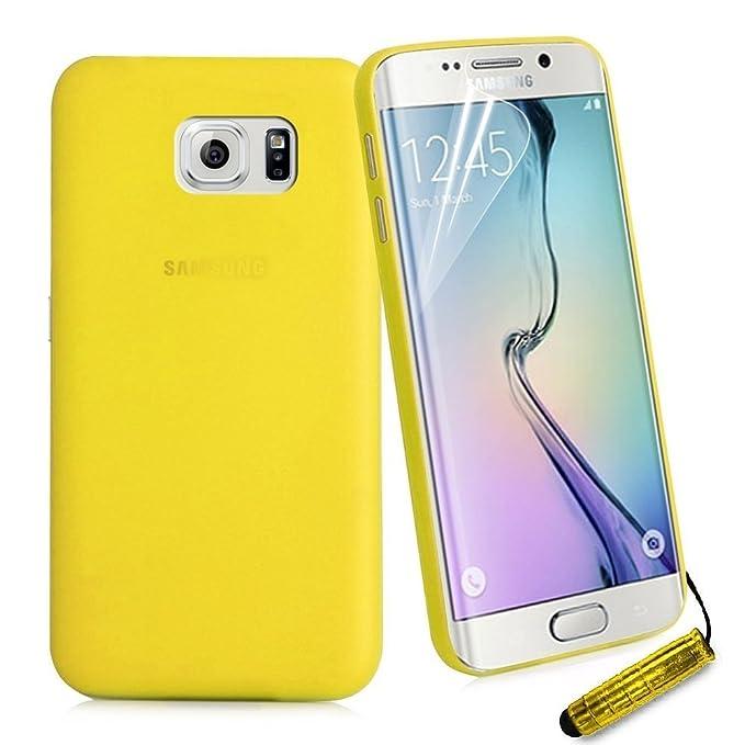 Easyplace Carcasa Tipo Carcasa para Samsung Galaxy S5, Amarillo