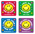 Carson Dellosa Christian Love Verses Stickers (0655) from Carson-dellosa Christian Publishing