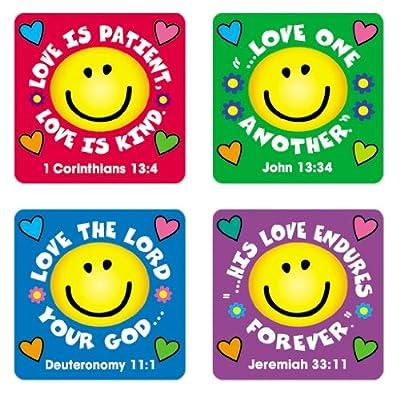 Carson Dellosa Christian Love Verses Stickers (0655)