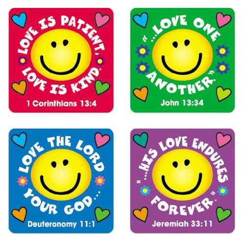 Carson Dellosa Christian Love Verses Stickers (0655) ()