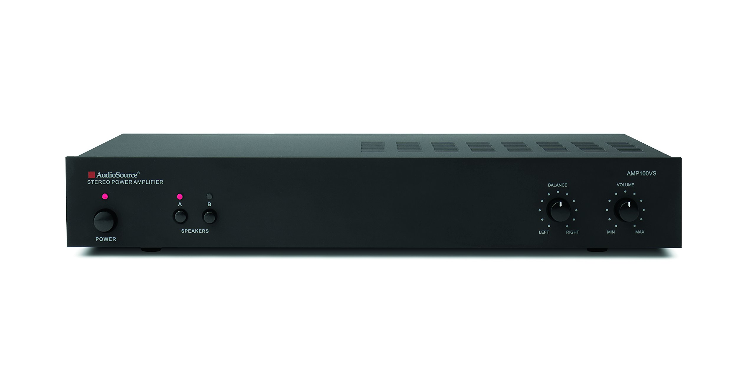 Audio Source AMP100VS 2 Channel Amplifier (Black) by Audiosource