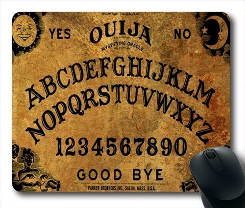 Non-Slip Rubber Mousepad Ouija Board Mouse Pad Retro Ouija Board Mouse Pad 180mm x 220mm x 2mm