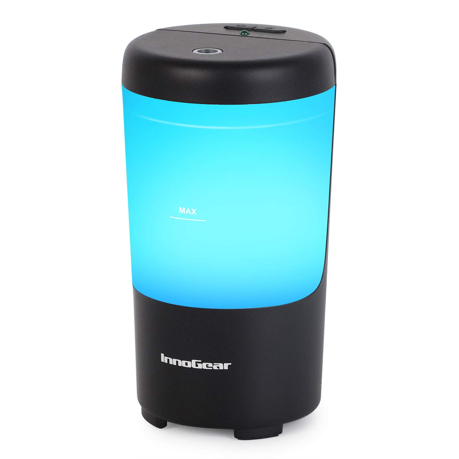 InnoGear Car Diffuser Aromatherapy Essential Oil Diffuser Cool Mist Car Humidifier for Vehicle with 7 Colorful LED Lights and Waterless Auto off