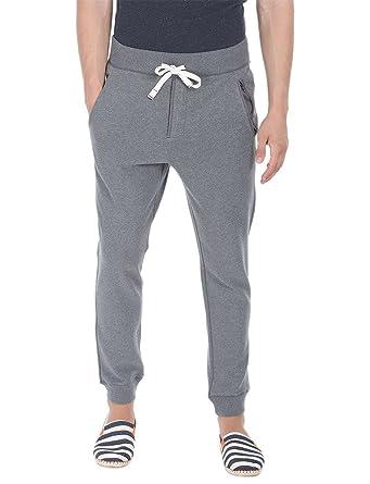846b2a368f92cc Zobello Men s Solid Fleece Standard Fit Cuff Jogger Sweatpants(31067C Sports  Grey Heather XX-Large)