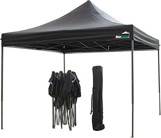 MaxxGarden Cenador desplegable, 3 x 3 m, impermeable, incluye ...