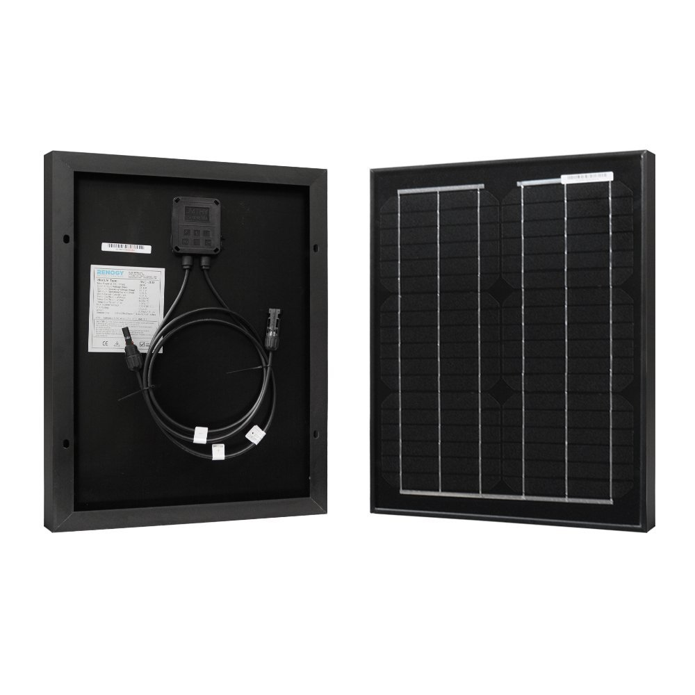 RENOGY® 20 Watts 12 Volts Panneau solaire monocristallin RNG-20D