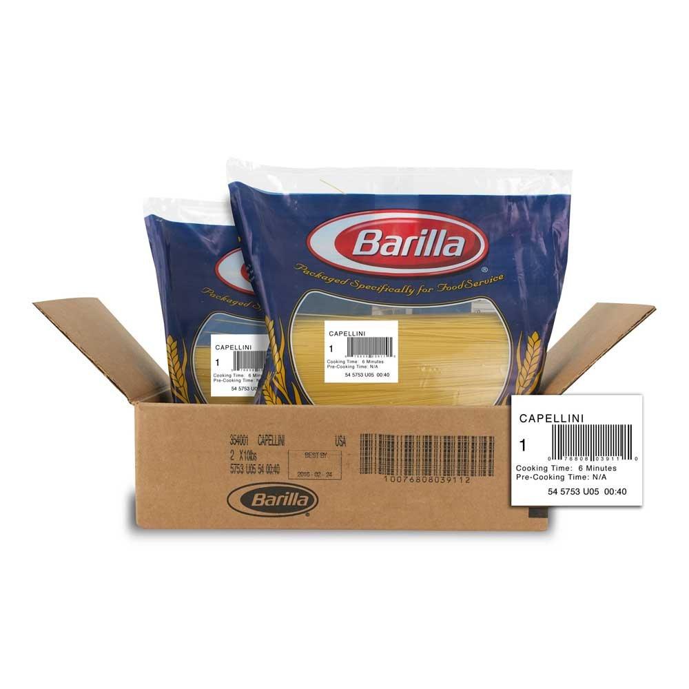 Capellini Pasta,10 Pound - 2 Case