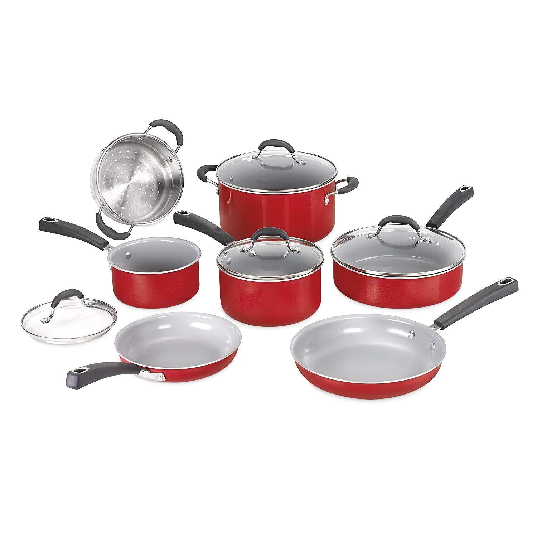 Amazon Com Cookware Set 11 Piece Best Pots And Pans Non Stick