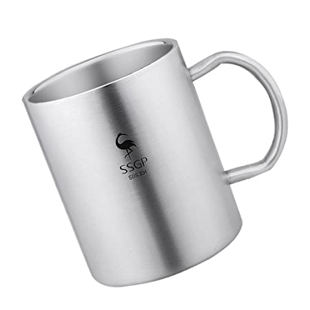 Baoblaze Copa para Café Té Leche Condensada Caliente Senderismo Accesorios de Cocina Cómodo: Amazon.es: Hogar