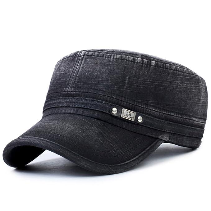 Versión coreana de la gorra plana Sombreros de deporte de ocio de moda al  aire 4b0bd2f2e43