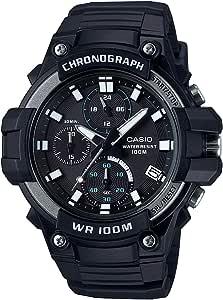 Casio Reloj Analógico para Hombre de Cuarzo con Correa en Resina MCW-110H-1AVEF