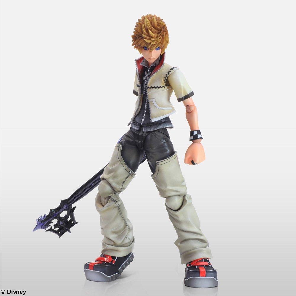 Square Enix Roxas Kingdom Hearts Ii Action Figure Toys Bott Funko Pop Riku Games