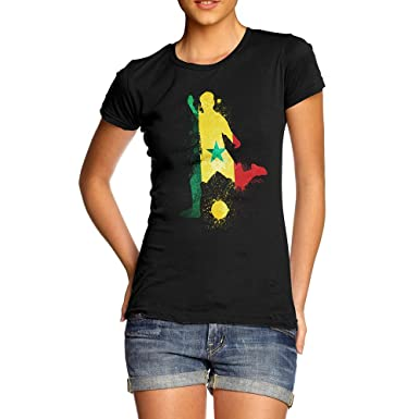 TWISTED ENVY Baby Pants Football Soccer Silhouette Senegal