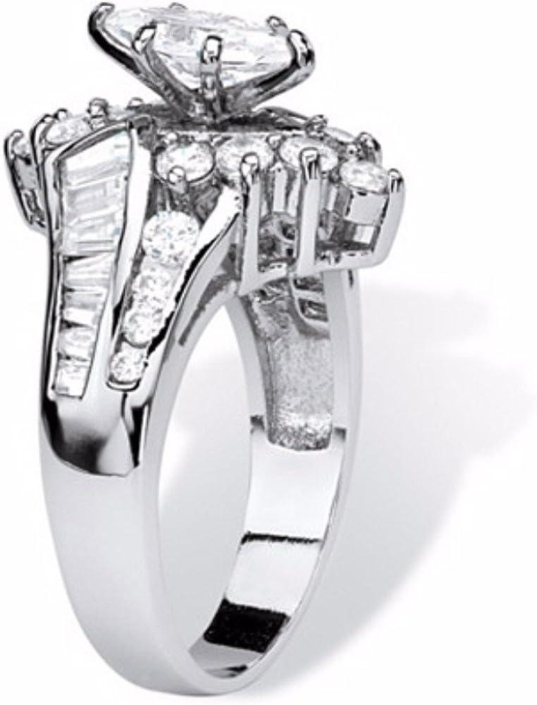 Dainzuy Wedding Ring Set Fashion Hand Jewelry Cut Diamond Engagement Eternity Bands Anniversary Promise Ring Jewelry