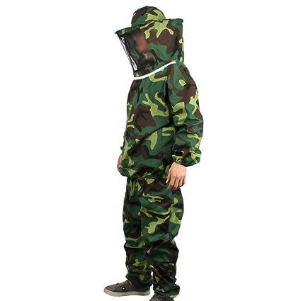 Amazon.com: Owfeel Beekeeping Protective traje de camuflaje ...