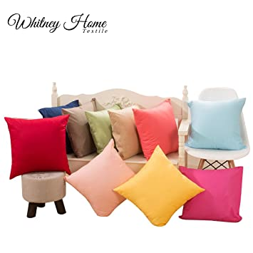 Home & Garden Table & Sofa Linens Geometric Pattern Linen Cotton Cushion Sleeve Home Sofa Art Decoration Outdoor Casual Pillow Cafe Car Pillow 45x45cm Fashion Easy To Lubricate