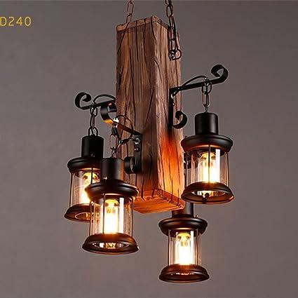 Lámparas de araña Industrial Retro Lámpara Vintage Colgante ...