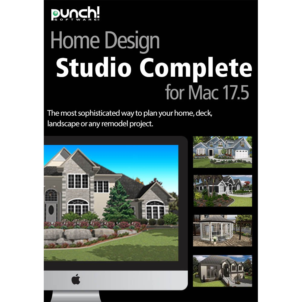 Amazon.com: Punch! Home Design Studio Complete v17.5 [Download ...