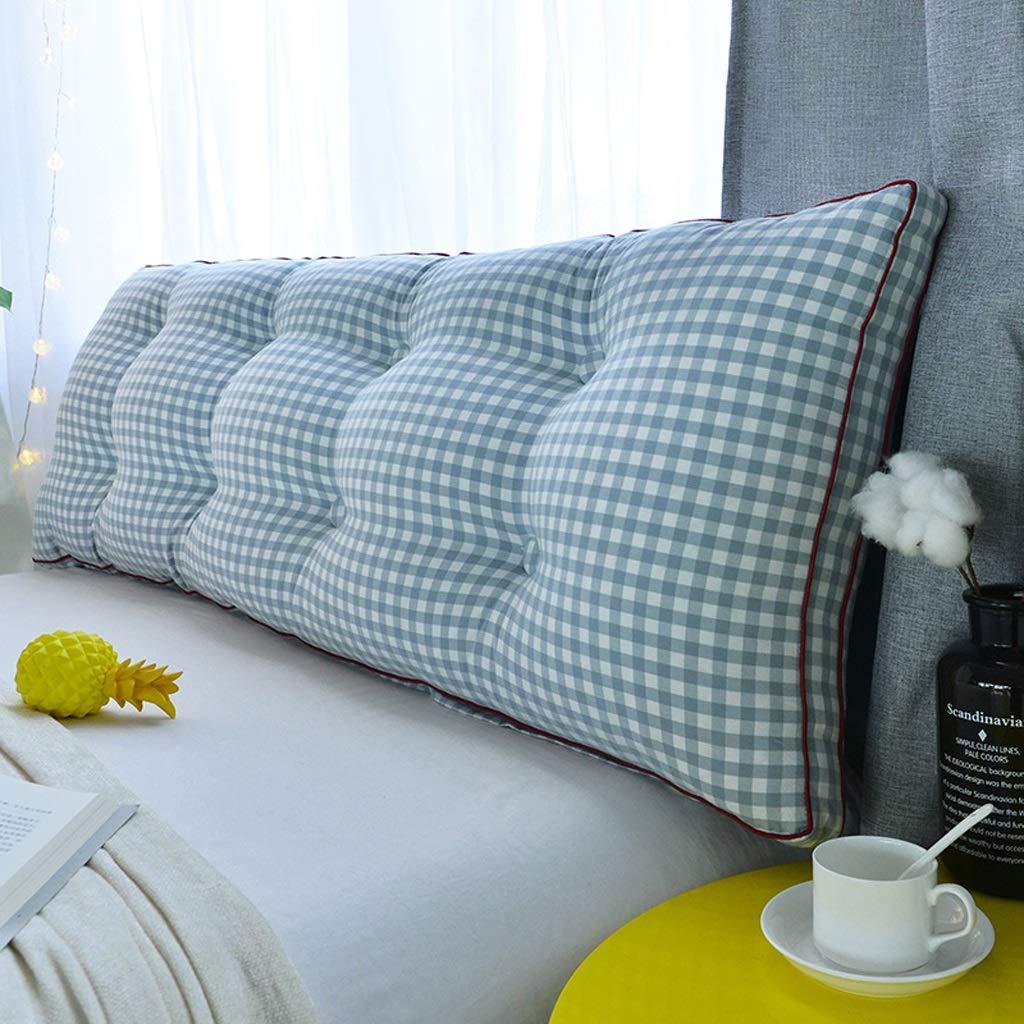 コットン枕ベッド、大きな背中、洗った綿、ウエスト、ダブルランバーピロー、和風ベッド枕 JSSFQK (Color : C, Size : 120*20*50cm) B07TRFBK7M C 120*20*50cm