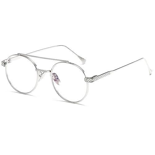 High Quality Metal Frame Steam Punk Sunglasses Women Brand Designer Round Men Gothic Sun Glasses Vintage Eyeglasses