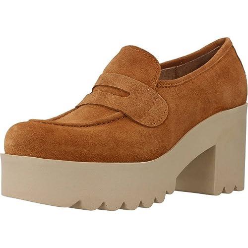 Mocasines para Mujer, Color marrón, Marca YELLOW, Modelo Mocasines para Mujer YELLOW Lisboa Marrón: Amazon.es: Zapatos y complementos