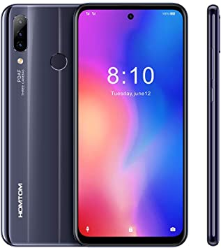 HOMTOM P30 Pro Smartphone 4G LTE, Batería Grande (4000 mAh) 6,4