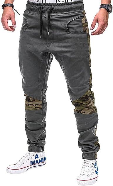 BBsmile Moda Pantalones Hombre Trabajo Elasticos Pantalones ...