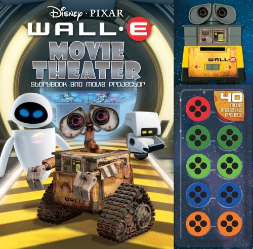 Read Online Disney Pixar Wall-E Movie Theater Storybook & Movie Projector pdf epub