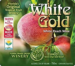 White Gold - White Peach Wine