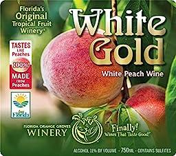 White Gold - White Peach Wine