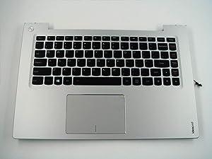 Genuine Parts for Lenovo ideapad U430P U430 Touch 14.0 inch Palmrest Upper case with US-English Layout Backlit Keyboard 90203602