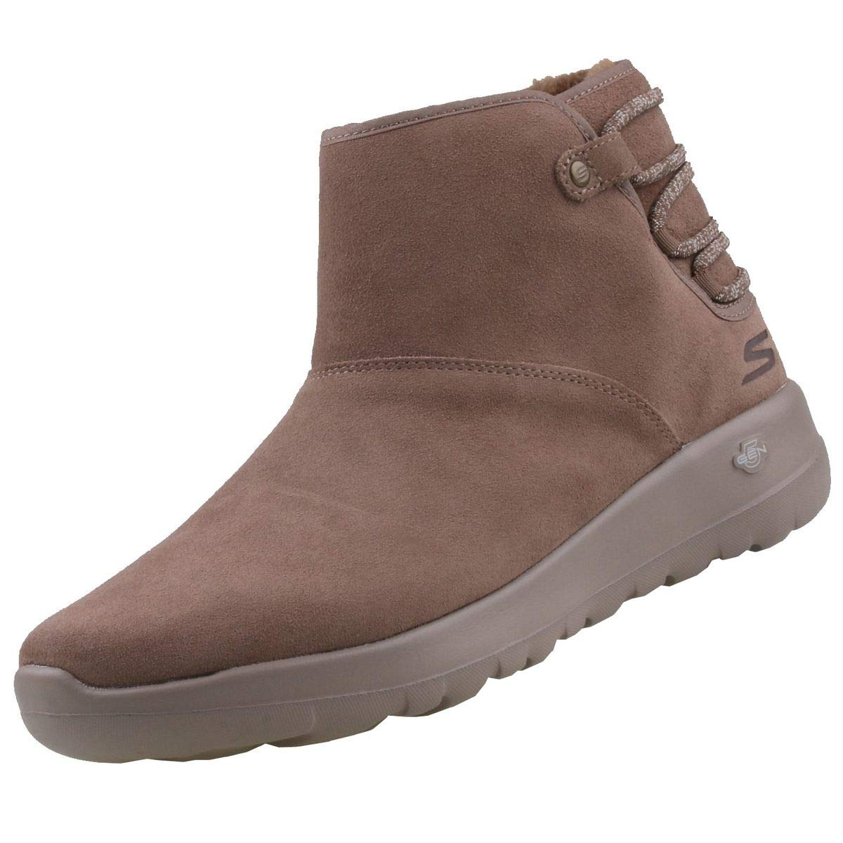 Skechers On The Go Joy Damen 15502 Dark Taupe DKTP Winterschuhe