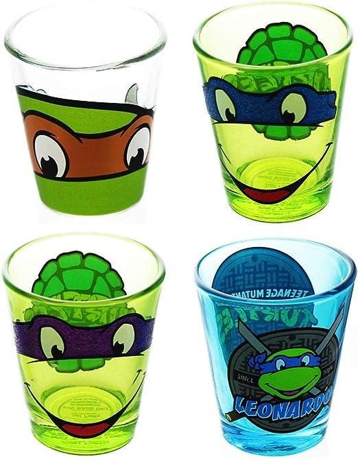 Amazon.com | Teenage Mutant Ninja Turtles Shot Glass Bundle ...