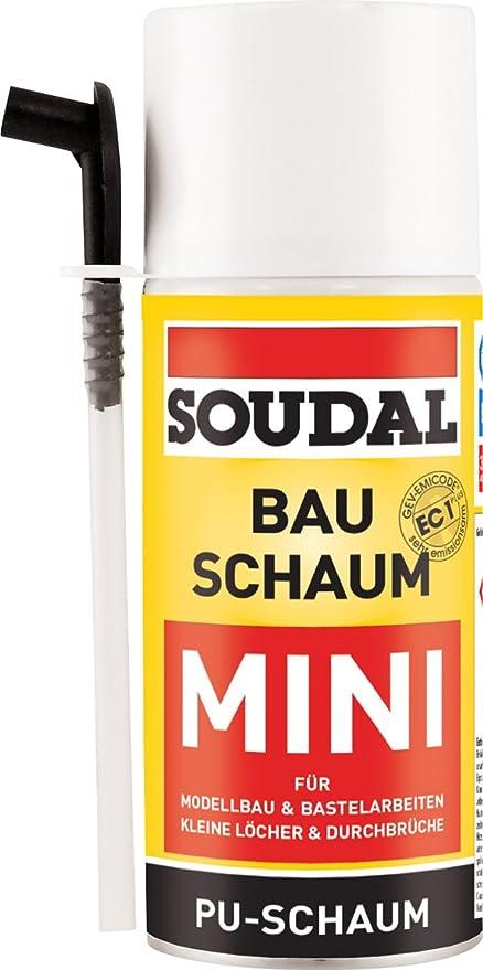 Diseño Espuma Mini, selbstexpandierender Poliuretano espuma rígida para modelo de construcción y manualidades, lata