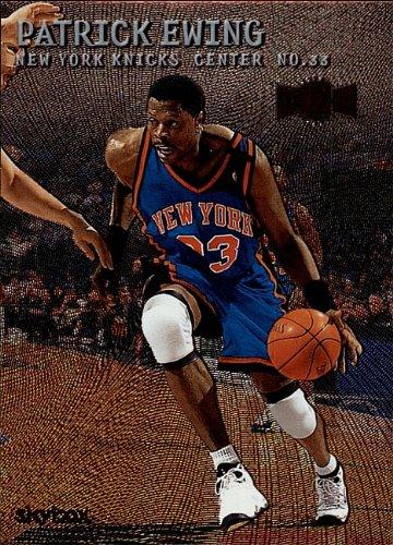 2000 Fleer/Skybox - METAL - Patrick Ewing - New York Nicks - Card 85