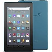 "Fire 7 Tablet, 7"" display, 16 GB, latest model (2019 release), Twilight Blue"