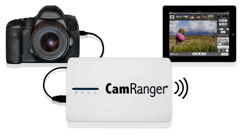 CamRanger Wireless Transmitter for Select Canon and Nikon DSLR Cameras