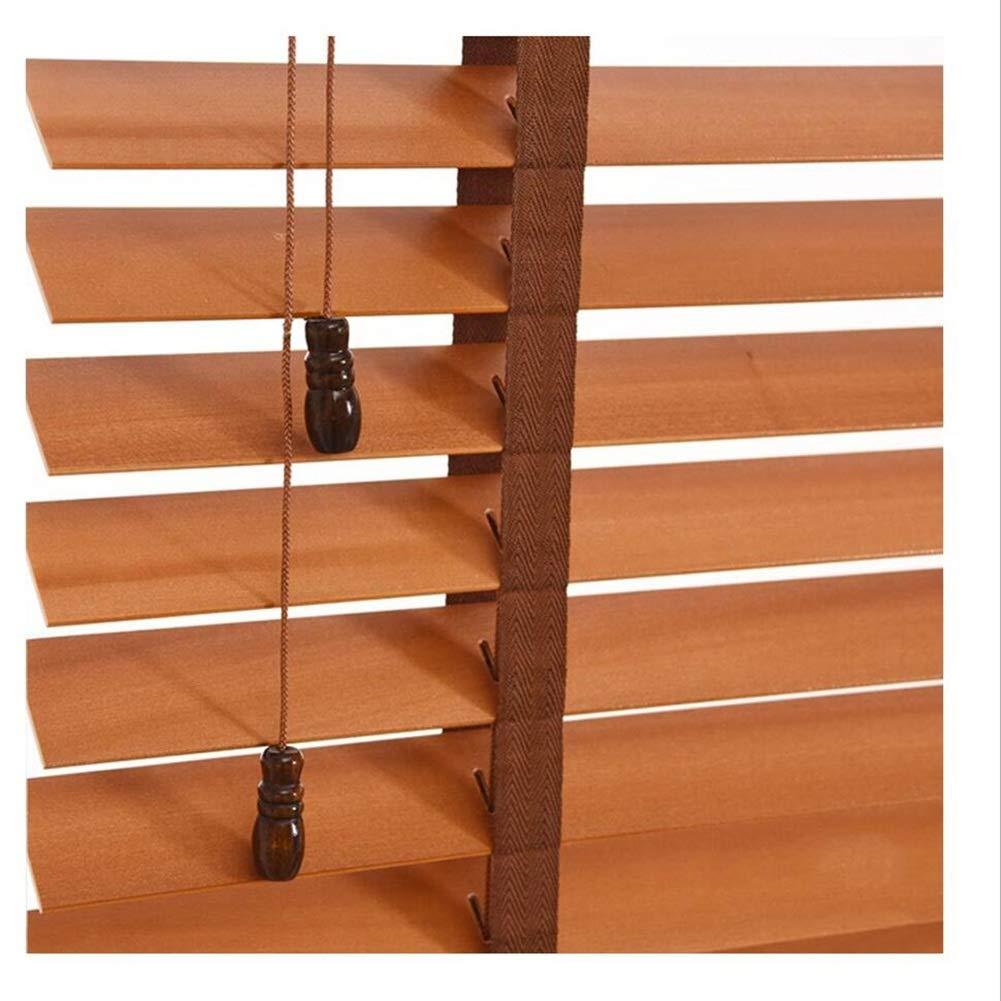 WUFENG Jalousien Massivholz Wasserdicht Schatten Verdunklungsvorhang, 3 Farben Mehrere Größen Kann Angepasst Werden Türvorhang (Farbe   C, größe   140x160cm)