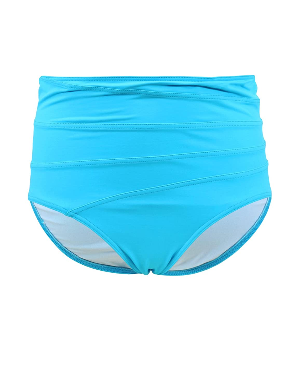 Bikini-Hose High-Waist Slip Emmatika Solid Cianico Swinga Türkis