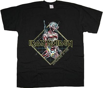 Iron Maiden Somewhere In Time Diamond Oficial Camiseta para ...