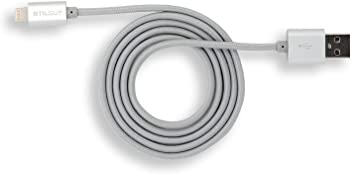 StilGut Magic Lightning cavo per smartphone eTablet Apple (1m), argento