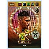 Panini FIFA 365 Adrenalyn XL 2017 Neymar Jr. Icon Trading Card