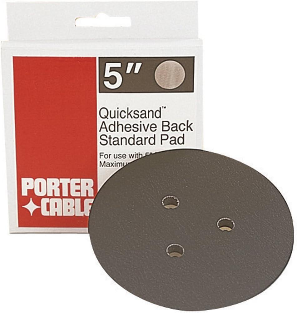PORTER-CABLE 13900 5-Inch Standard Adhesive-Back Sanding Pad (for 332 Random Orbit Sander)-Inch