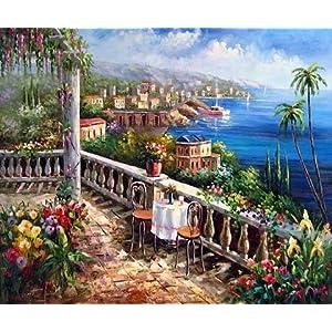 61foaXQbAXL._SS300_ Beach Paintings & Coastal Paintings